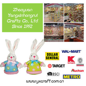 Easter Decoration Free Sample (ZY15Y295-1-2-3) Easter Bunny Bag Easter Gift Craft Dropshipping pictures & photos