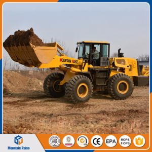 Zl50 5t Front End Wheel Loader 5ton Heavy Payloader for Sale pictures & photos