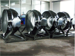 Stainless Steel 300L Steam Tilting Type Jacketed Pot pictures & photos