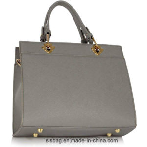 New Trendy Diamond-Studded Women Handbag Grey Bow Tie Grab Bag pictures & photos