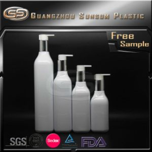 Plastic and Aluminum Color Airless Bottle for Square Cosmetic Packaging pictures & photos