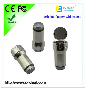 Stainless Steel Car Charger with Hammer