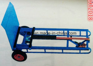 Stretch Competitive Price Steel Hand Trolley pictures & photos