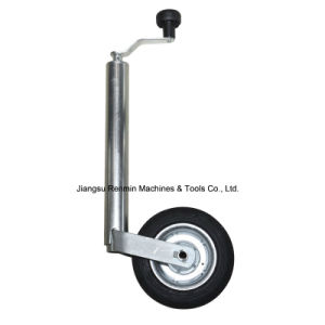 Zinc Plated Jack Jockey Wheel of Trailer Parts (EST48)
