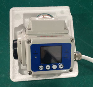 Regulating Electrical Actuator with LCD Display pictures & photos
