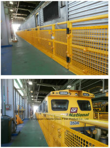 FRP GRP Fence/ FRP Guardrail/ FRP Handrail with Anti-Corrosion Performance pictures & photos