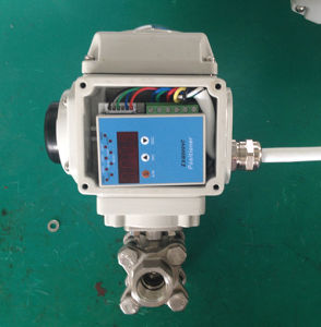 Electric 3PC Ball Valve Modulating Type/Regulating Type pictures & photos