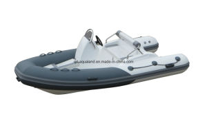 Aqualand 14feet 4.3m Rib Fishing Boat/Rigid Inflatable Motor Boat (RIB430C) pictures & photos