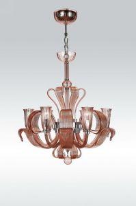 Simple Home Decoration Glass Chandelier Pendants (MD5262-6A) pictures & photos