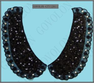 New Style Lace Collar with Pearls and Stones pictures & photos