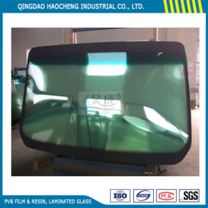 Grey-on-Green 0.76mm PVB Film for Automotive Windshields pictures & photos