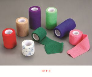 High Quality Elastic Cohesive Bandage with CE &ISO pictures & photos