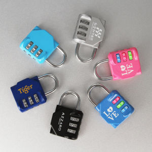 Commercial Resettable Combination Padlock with Painted Finishing pictures & photos