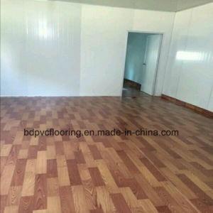 3m Plastic Floor Covering in Rolls 2.5m Width Flooring Linoleum pictures & photos