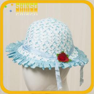 Fashion Straw Summer Hat for Little Girl (KH021SST)