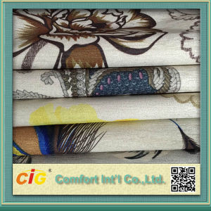 Printing Sofa Fabrics/Jacquard Sofa Fabrc/Flocking Sofa Fabric pictures & photos