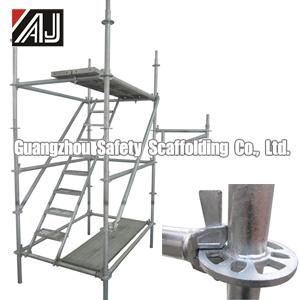 Galvanized Steel Modular Scaffolding, Guangzhou Manufacturer pictures & photos