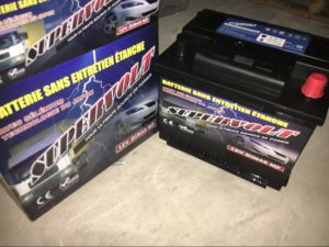 12V45ah Maintenance Free Lead Acid Car Storage Battery (DIN45MF) pictures & photos