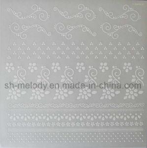 White Flower Rub on Transfer Sticker/ Rub Ons/Rub on Sticker pictures & photos