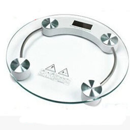 Electronic Tempered Glass Bathroom Scale pictures & photos
