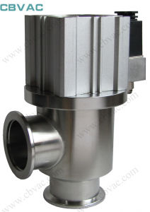 Vacuum Angle Check Valves with CF/Kf/Lf Flange pictures & photos
