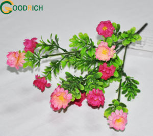 Small Bouquet Artificial Flower with 5heads pictures & photos