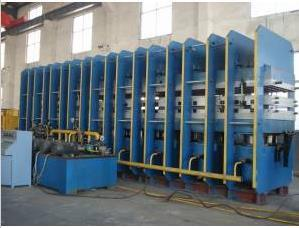 Conveyor Belt Curing Press Machine