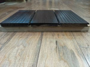 Durable Solid Strand Woven Bamboo Flooring for Bathroom pictures & photos