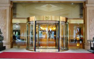 China Automatic Revolving Door Low Price (DS-R2) pictures & photos