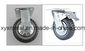 Medium Duty Caster Fixed / Rotating Caster. Mute Design. Falme PU Caster Wheel Meduim Duty Caster pictures & photos