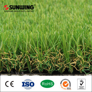Fake Turf Aquarium for Landscaping Flooring Lawn Artificial Grass pictures & photos