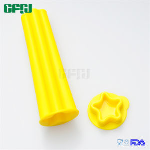 Premium Star Shaped Silicone Popsicle Ice Pop Molds with Lids pictures & photos