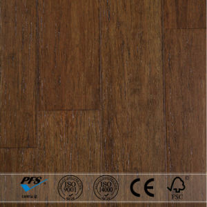 Formaldehyde Free Easy Click Strand Woven Bamboo Flooring