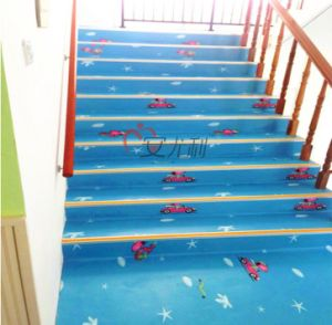 Anti-Slip Fireproof Waterproof Vinyl Flooring for Kindergarten pictures & photos