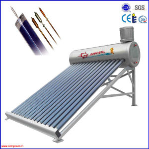 Pressurized (heat pipe) Stainless Steel Solar Water Heater pictures & photos