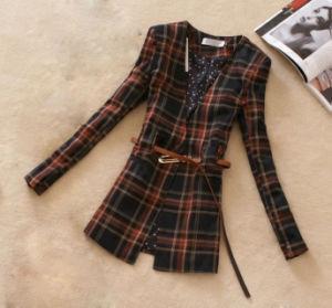 Ol Style Ladies Fashion Collarless Jacket