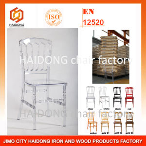 PC Resin Plastic Clear Napoleon Chair pictures & photos