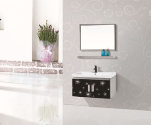 Mirror with The Basin for PVC Bathroom Cabinets / Bathroom Vanity /Bathroom Furniture pictures & photos
