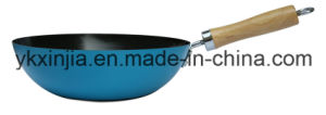 Kitchenware Colorful Carbon Steel Mini Wok Cookware pictures & photos