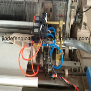 2 Color Electronic Feeder Air Jet Loom with Staubli or Bintian Cam pictures & photos
