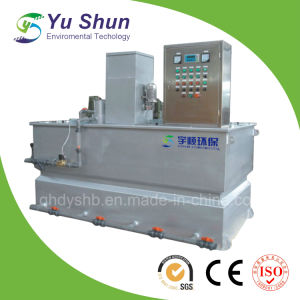 Automatic Dosing and Filling System for Polymer Preparation Unit pictures & photos