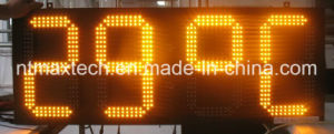 6 Inch Outdoor LED Digital Sign pictures & photos