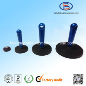 D88 Rubber Covering Magnet Grippers Pot with Strong NdFeB Magnet pictures & photos