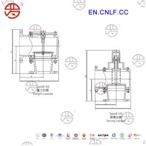 Lf-8130 Pressure/Vacuum Relief Valve