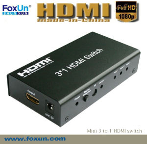 3*1 HDMI Switch Support 3D