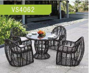 Garden Wicker PE Outdoor Dining Set pictures & photos