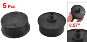 "0.57"" Diameter Thread Plastic Black Air Compressor Mufflers pictures & photos"