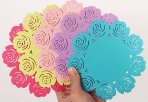 High Quality Creative Carved Flower Silicone Heat Insulation Mat pictures & photos