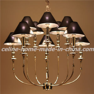 Iron Hanging Lamp with Leather Shade (SL2096-5+5) pictures & photos