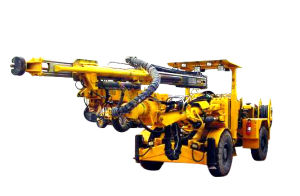 High Quality Hydraulic Single Arm Rock Drill Machine (KDF30) pictures & photos
